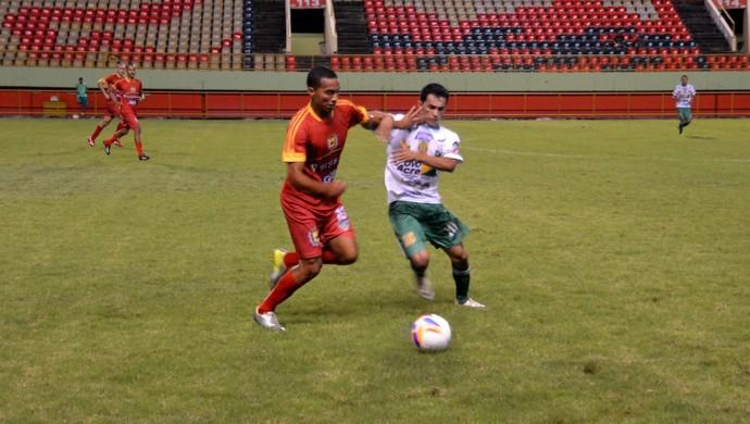 Alto Acre x Galvez, na Arena da Floresta, em Rio Branco (Foto: Nathacha Albuquerque)