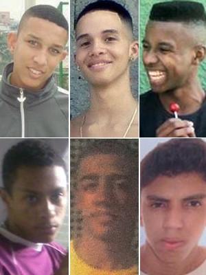 jovens mortos no rio chacina (Foto: Reprodução)