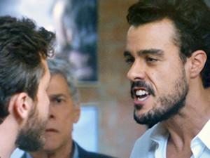 Enrico enfrenta Leonardo (Foto: TV Globo)