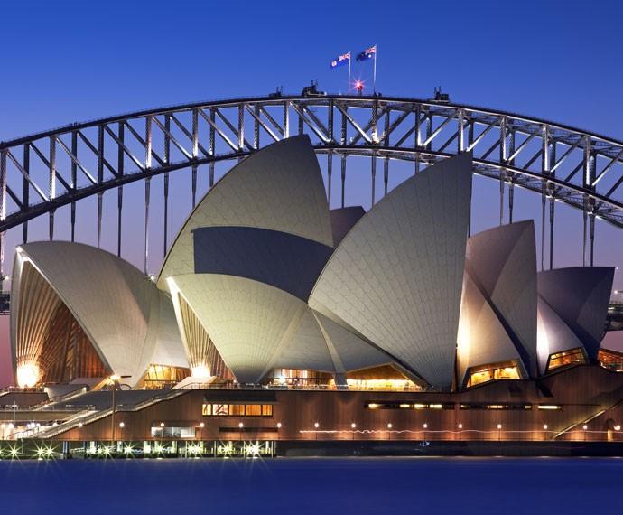 A Sydney Opera House (Foto: Divulgação)