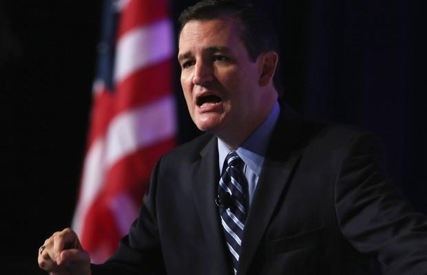 Ted Cruz, senador, primeiro republicano a declarar candidatura à Presidência dos EUA para 2016 (Foto: Getty Images)