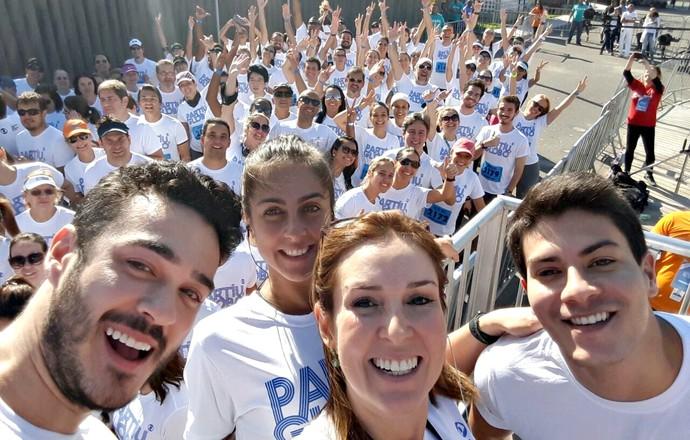 Corrida partiu,globo euatleta selfie (Foto: Divulgação)