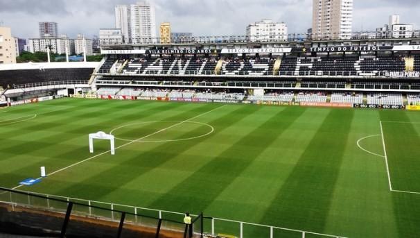Vila Belmiro será palco do confronto entre Santos e Corinthians (Foto: Reprodução GE)