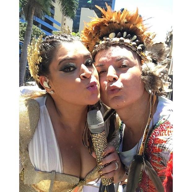 Preta Gil e David Brazil (Foto: Instagram/Reprodução)