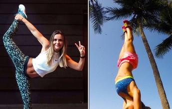 Personal e modelo fitness faz sucesso nas redes com dicas de vida saudável