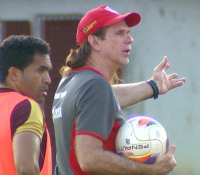 Sérgio Guedes, técnico do Mogi Mirim (Foto: Reprodução EPTV)
