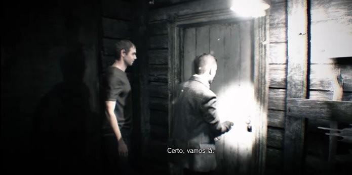 Fita de vídeo indica acontecimentos anteriores à demo de Resident Evil 7 (Foto: Reprodução/Felipe Demartini)