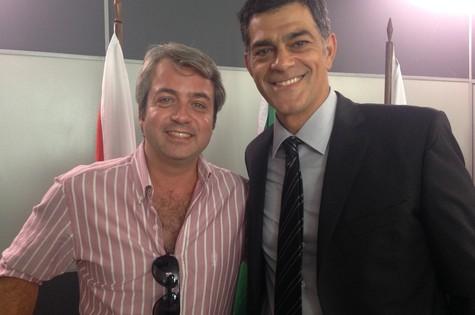 Rodrigo Candelot e Eduardo Moscovis (Foto: Divulgação)