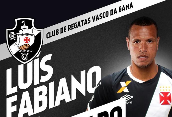 Luis Fabiano é anunciado pelo Vasco (Foto: Divulgação)