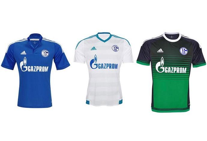 8cd96937f Veja os uniformes de todas as equipes do Campeonato Alemão de 2015 ...