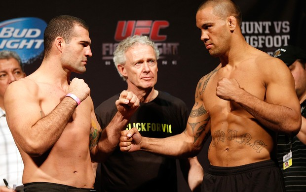 Mauricio Shogun x James Te Huna, UfC Fight Night (Foto: Getty)
