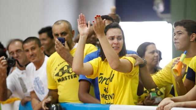 Emoções finais da 13ª Copa TV Tribuna de Futsal Escolar (Foto: José Luiz Borges)