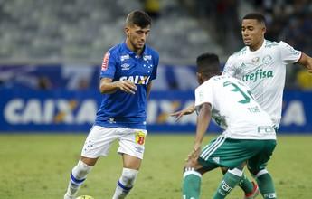 """Arrascaeta passa por """"meio time"""" do Palmeiras e vence lance mais bonito"""