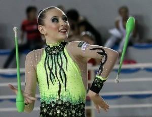 Mayra Siñeriz, ginasta capixaba (Foto: Ricardo Bufolin/Photo&Grafia)