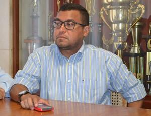 Eliel Tavares, diretor de futebol do América-RN (Foto: Jocaff Souza)