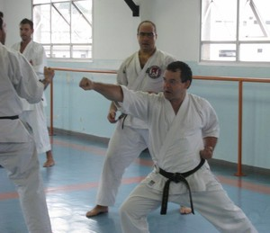 Clinica Estadual de Arbitragem de Karatê acontece neste sábado em Ji-Paraná (Foto: Shihan Wagner/Arquivo Pessoal)