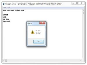 Custom Error Generator