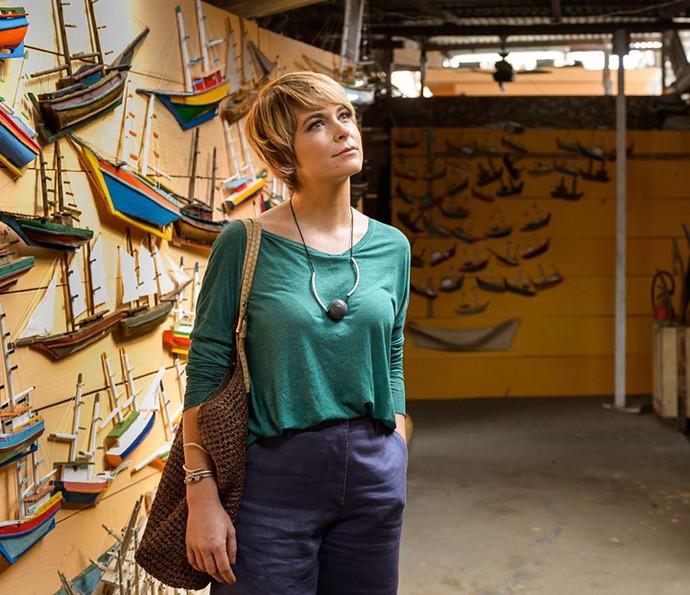 Cláudia Abreu viverá a galerista Helô em 'A Lei do Amor' (Foto: Globo/Ramon Vasconcellos)