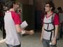 Teaser: Filipe descobre que Artur planejava colar na prova