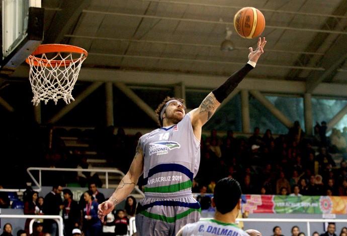 Lorenzo Mata basquete na Liga das Américas (Foto: Samuel Vélez / FIBA Américas )