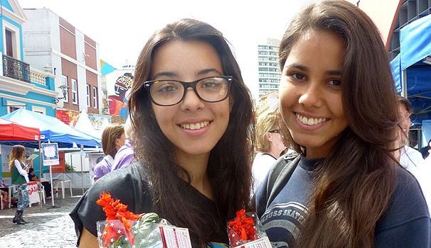 Thayna e Nathalia (Foto: Divulgação/ RPC TV)