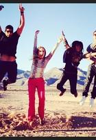 Angélica se diverte com famosos em Las Vegas, nos Estados Unidos