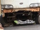 Mais de 500 carros abandonados são retirados das ruas de Bauru após lei