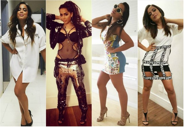 Anitta fala sobre looks que já criaram polêmica entre a turma da moda: Ser estilosa é ter atitude, é ter senso incomum, ser autêntica e  bom humor  (Foto: Reprodução do Instagram)