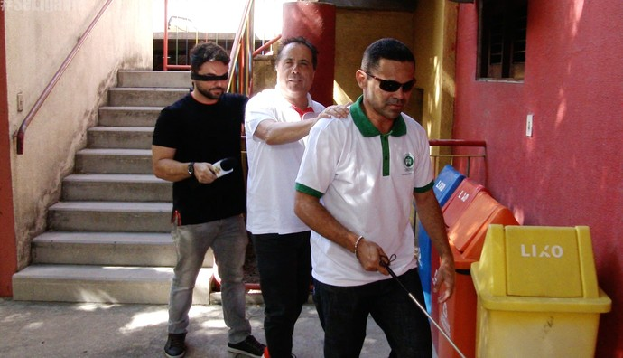 Geraldo Magela apronta no Ceará (Foto: Se Liga VM)