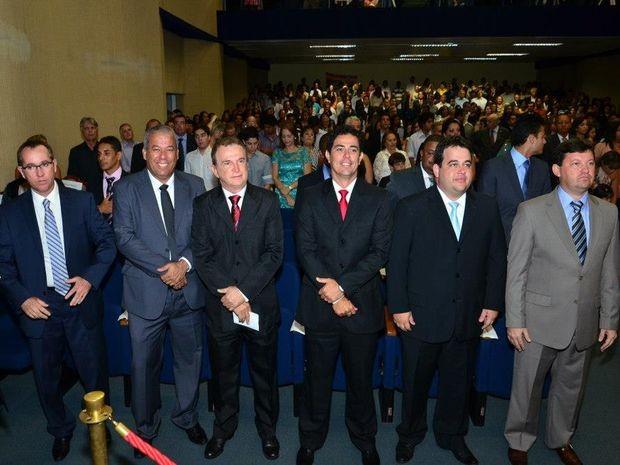 Vereadores eleitos em Aracaju são empossados (Foto: Alberto Dutra)