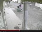 Assaltantes são presos depois de serem filmados, em Conselheiro Pena