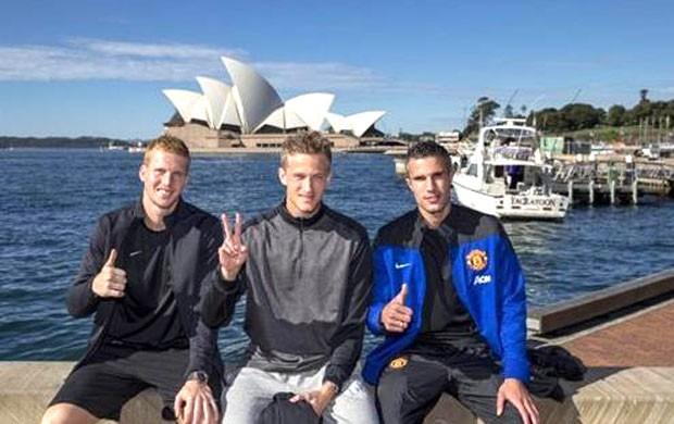 Manchester United Austrália  (Foto: Divulgação / Site oficial do Manchester united)