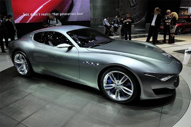 Maserati Alfieri Concept No Salão de Genebra (Foto: Newspress)