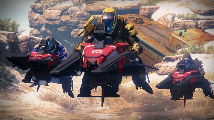 Destiny ganha modo de corrida com os Pardais (Foto: Divulgação/Activision)