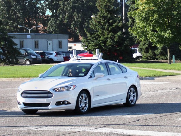 Ford testa tecnologia autônoma com o Fusion (Foto: Divulgação)