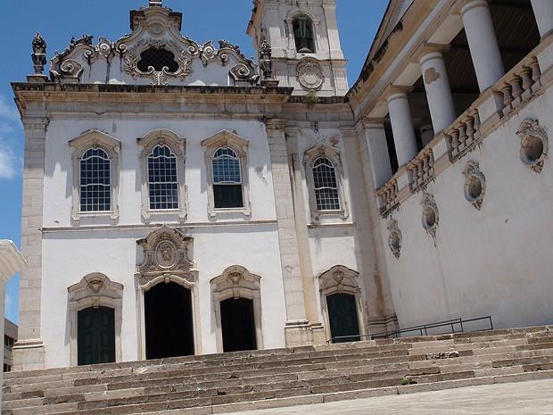 Igreja Nossa Senhora do Pilar e Santa Luzia (Foto: Henrique Mendes/G1)