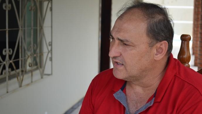 Carlos Dalanhol, vice-presidente do Vilhena (Foto: Jonatas Boni)