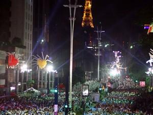 Veja imagens das comemorações do Ano Novo pelo Brasil (Alex Vieira/Futura Press/Estadão Conteúdo)