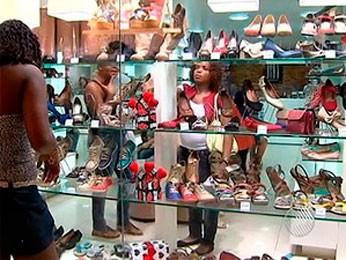 Lojas dos shoppings ficam fechadas nas eleições do 2° turno, em Salvador (Imagens/TV Bahia)