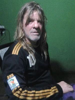 Júlio César Lócio de Alencar, mecânico do DF que ficou cego aguardando cirurgia no DF (Foto: Zélia Regina Queiroz de Alencar/Arquivo pessoal)