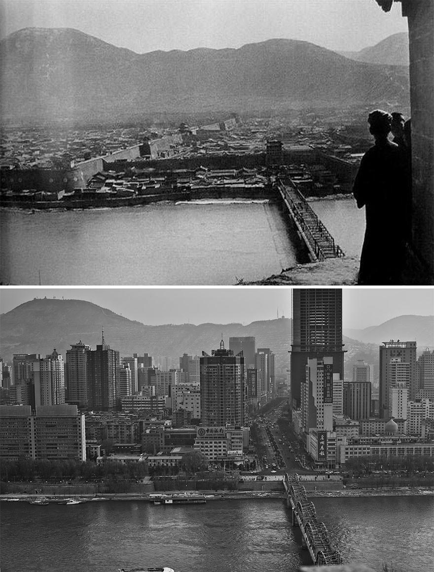 15 fotos que mostram o desenvolvimento da China nos últimos 100 anos