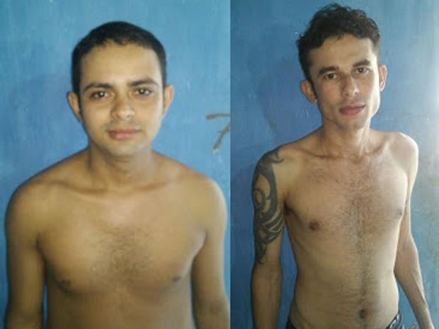SSP divulgou imagens dos detentos que fugiram da Delegacia de Polícia Civil de Grajaú (Foto: Divulgação/SSP-MA)