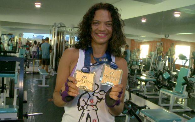 Duxley Luz conquistou o ouro em campeonato munidal de jiu-jitsu (Foto: Globo Esporte)