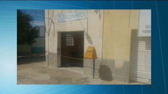 Casal é feito refém durante assalto a agência dos Correios no Sertão da PB