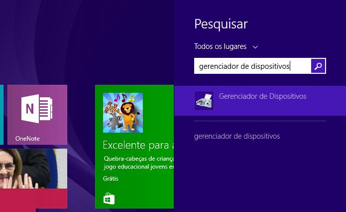 Abra o Gerenciador de Dispositivos do Windows (Foto: Reprodução/Paulo Alves)