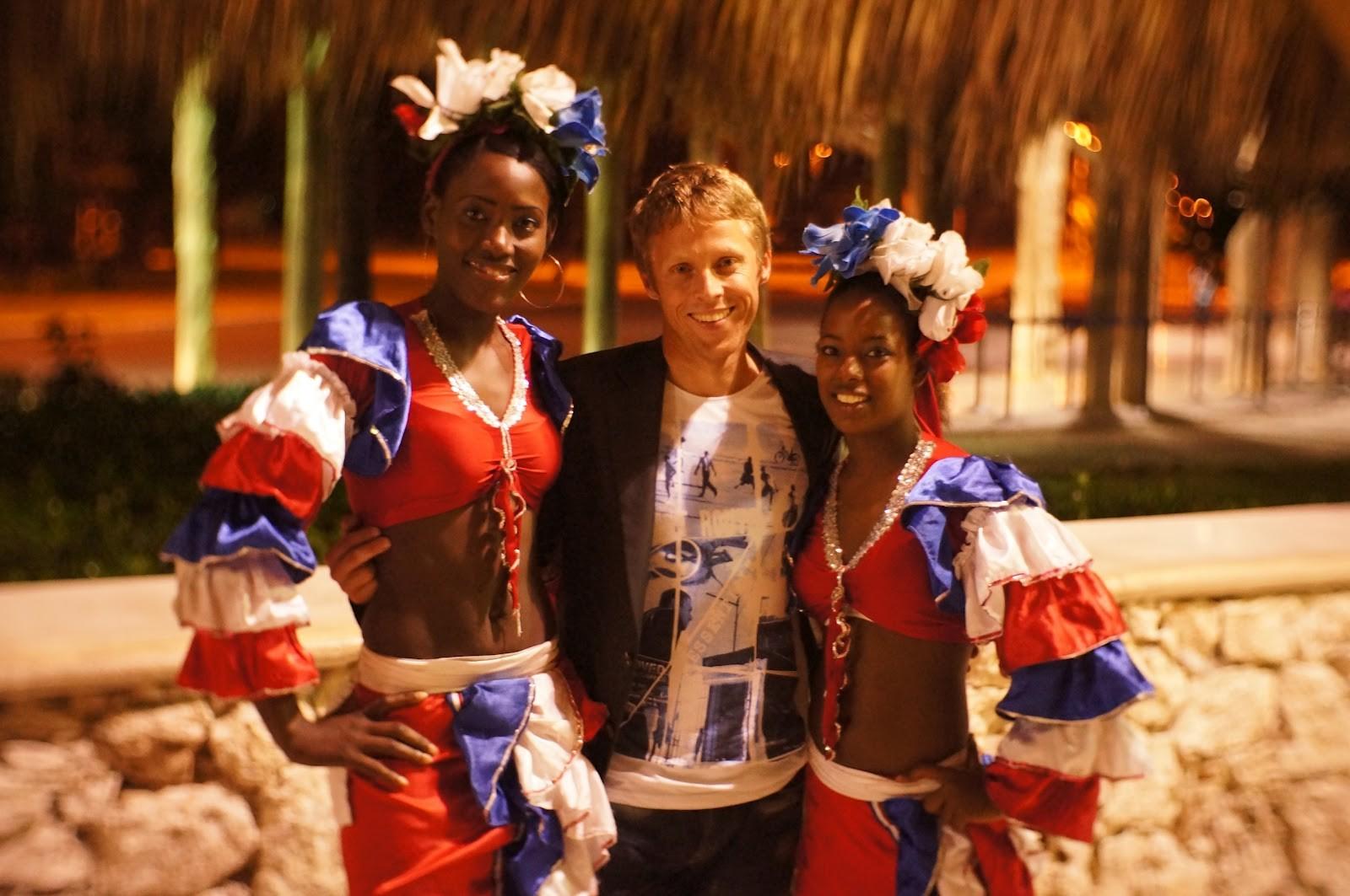 Gunnar Garfors em Punta Cana, na República Dominicana (Foto: Adelia Television/Divulgação)