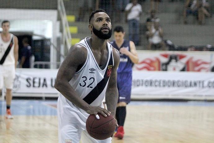 Jackson em ação pelo Vasco da Gama na semifinal do Estadual (Foto: Paulo Fernandes/Vasco.com.br)