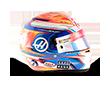 Capacete Formula 1 2016 - Romain-Grosjean
