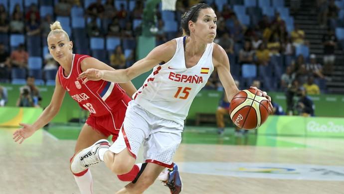 Anna Cruz Espanha basquete (Foto: REUTERS/Shannon Stapleton)