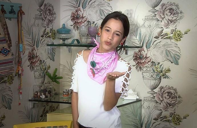 Aprenda a usar a famosa bandana (Foto: TV Sergipe)